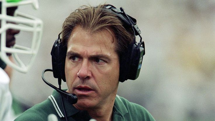 Nick Saban used to coach Michigan State. Now Sparty's just in his way.