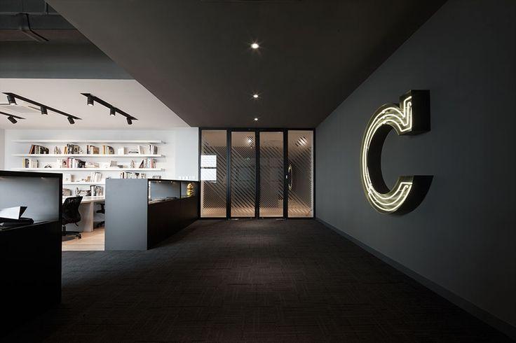 Park Office of the Shanghai-based design studio COORDINATION ASIA | #office #design #shanghai