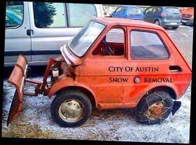 City of Austin, Texas snow removal