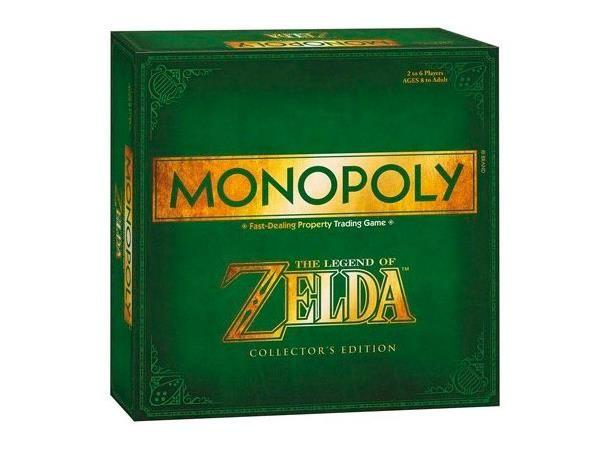 Monopol The Legend of Zelda Collectors Edition brettspill er en spesialutgave av det klassiske brettspillet. Et fantastisk spill/samleobjekt for alle The Legend of Zelda-fans!Antall spillere: 2-6Alder: 8+Spilletid: 120 minutter