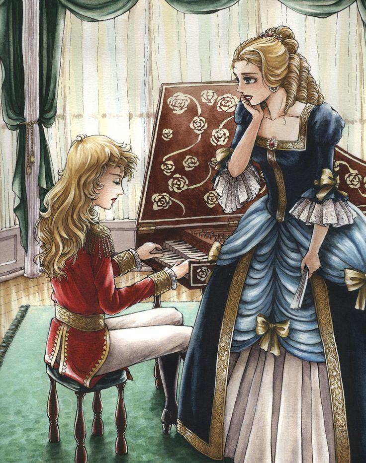 Oscar and Marie-Antoinette by angelajordan.deviantart.com on @deviantART
