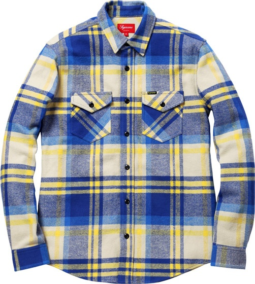 Heavyweight Plaid Supreme Shirt Askmen Style Pinterest