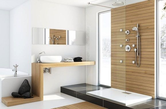 The Art of Luxurious Modern Rustic Bathrooms | POSH365INC