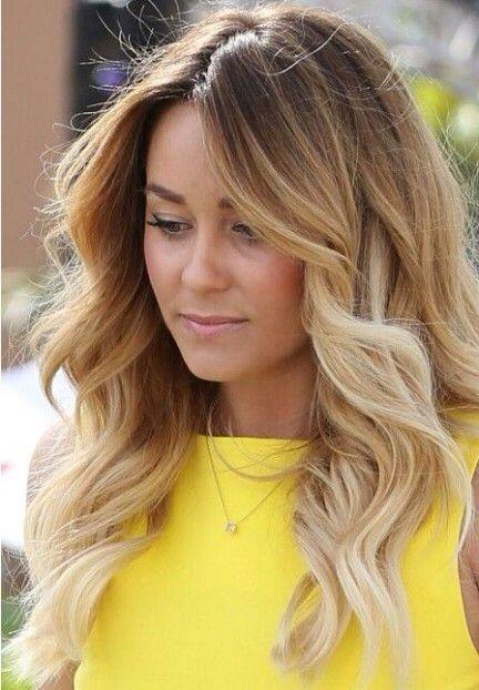 Medium length hair big curls, hopefully one day my hair looks exactly like this