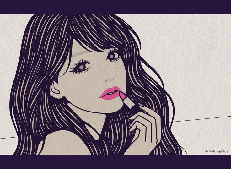 【web】http://naho.tv/ 【twitter】https://twitter.com/NahoGraphics 【Youtube】https://www.youtube.com/channel/UC81jOID4X2mNtjh47jp02oQ 【instragram】https://www.instagram.com/naho_note/  #illustration #drawing #art #simple #design #fashion #hair #hairstyle #face #design #イラスト #イラストレーション #アート #女性イラスト #ドローイング #絵 #make #メイク #女の子 #girl #woman #女性 #ファッション #ロングヘア #手描き #線画 #切り絵風 #コラージュ #collage #レトロ #口紅 #lip