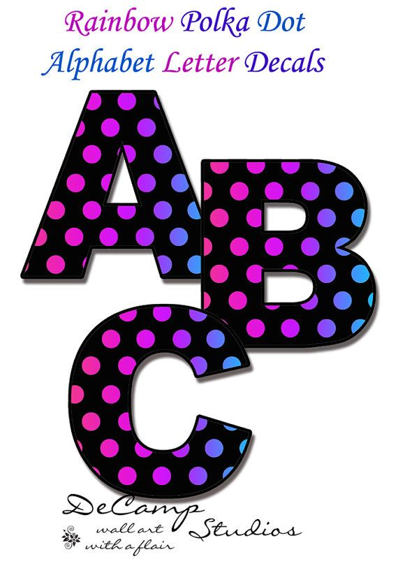 polka dot letters 172 best images about geometric polka dot decals on 24021 | 48379bc17d23ee2fd99f626c231ff3a2 letter decals letter wall