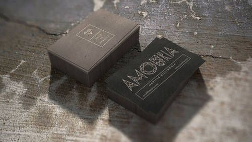 Amouria Jewelry   Branding, Graphic Design, Packaging   Love is Fragile. Yes, relationships are known to be fragile matter. However, if thin lines of the logo become facets of diamond, it's a reason to think different