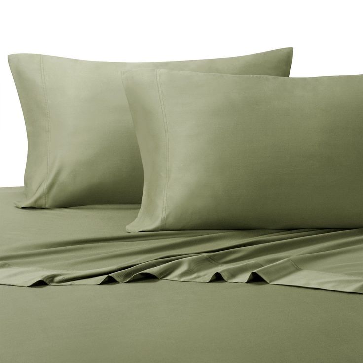 King Super Silky Soft Sage Bamboo Sheets 600 Thread Count 100% Viscose