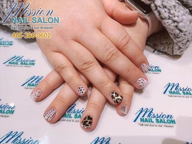 Brighten Your Day With A Beautiful Nail Art Mission Nail Salon 3539 W Memorial Rd Oklahoma C Nail Repair Nail Technician Courses School Nails
