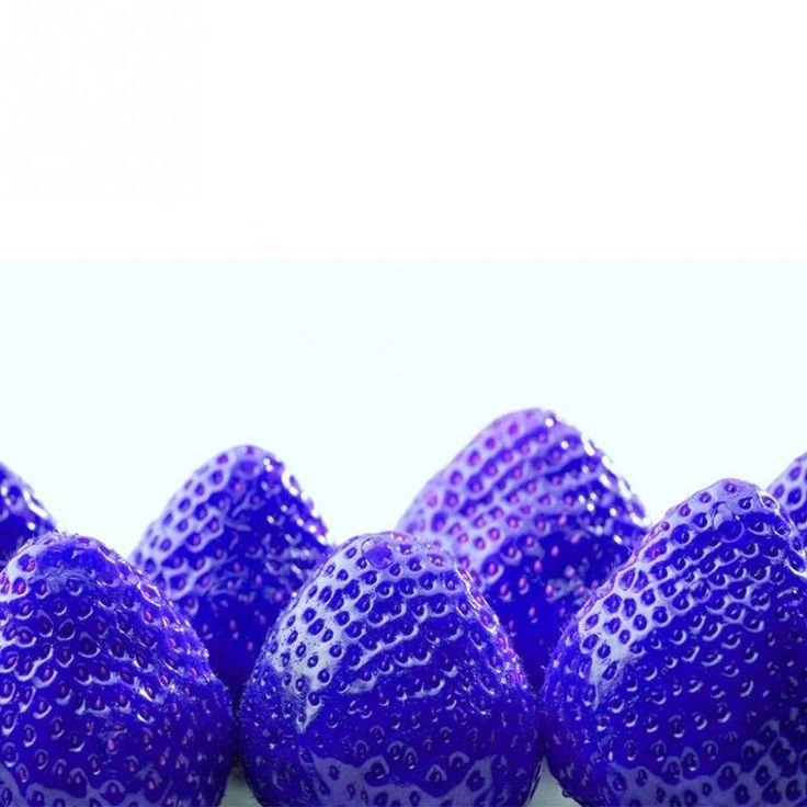 Favorable 500Pcs Blue Strawberry Rare Fruit Vegetable 400 x 300