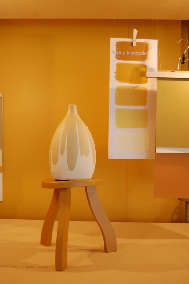 """Flexa (honey colour palet) - as seen at the """"Woonbeurs"""" in Amsterdam"""