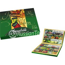 "Greenfield Tea ""Premium Tea Collection"" 120 bags"