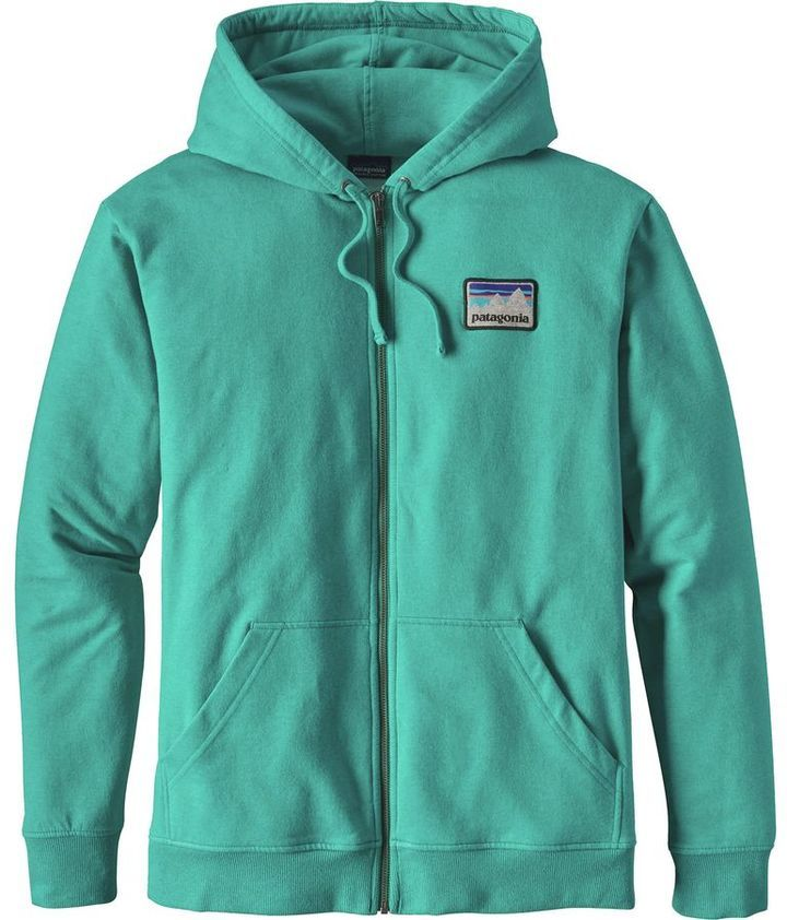 Patagonia Shop Sticker Patch Midweight Full-Zip Hoodie