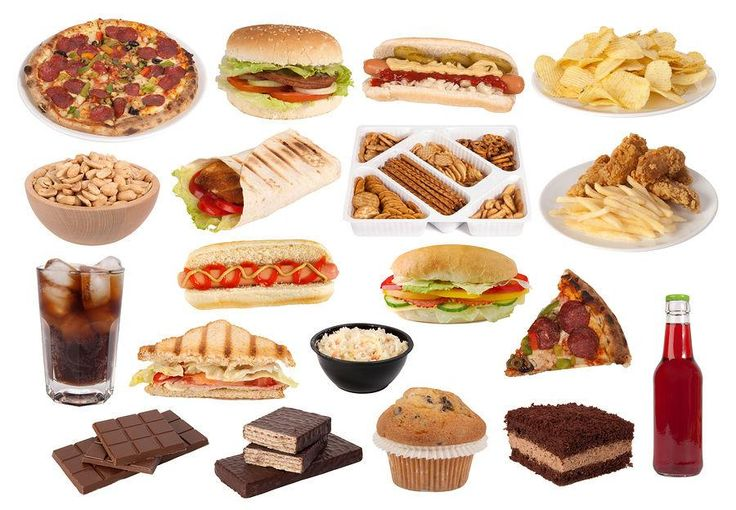 Types of Junk Food