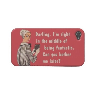 Another great retro funny Blunt Card iPhone case