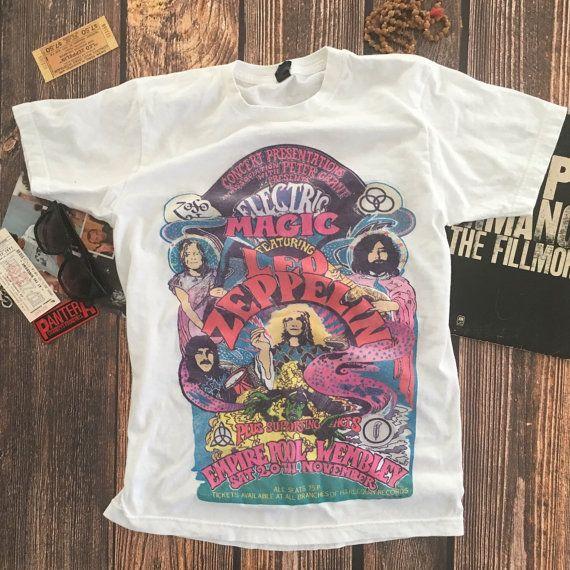 Best 25+ Vintage band shirts ideas on Pinterest | Vintage band t ...