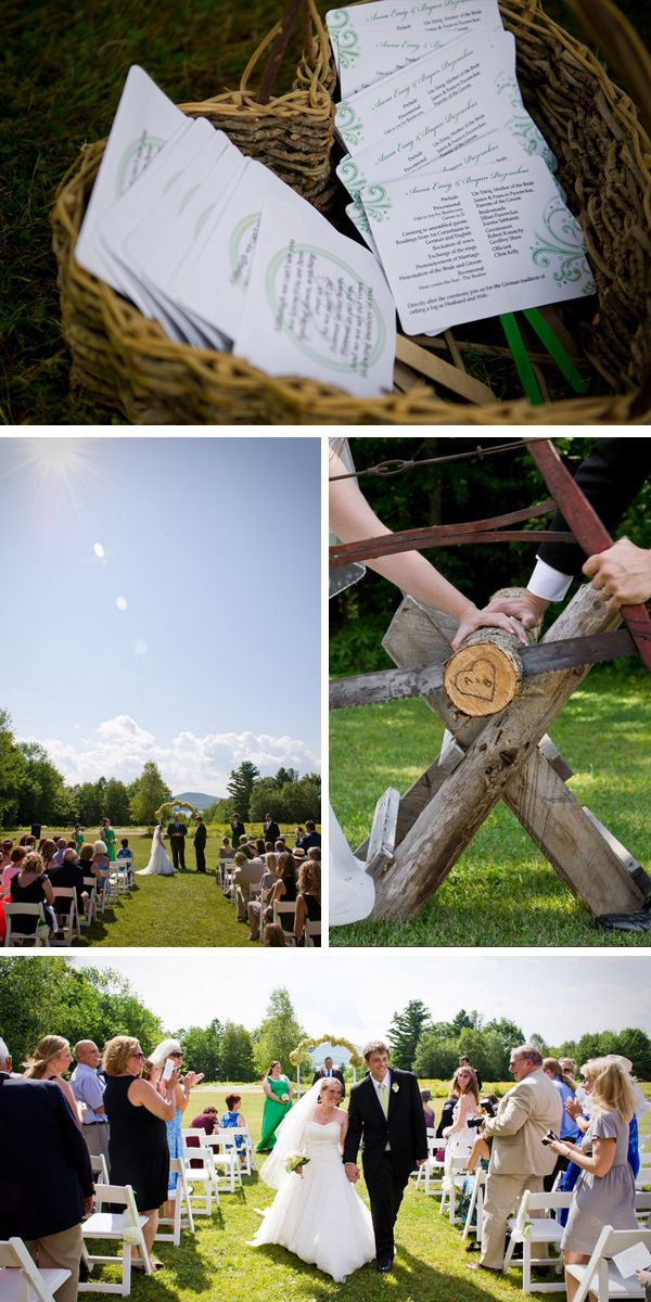 Sawing of the wood (It is a German tradition and symbolizes that now as husband and wife the couple works on problems together and solves them together. | ashley therese photography