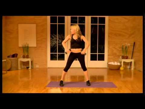The Tracy Anderson Method : 1/6/2016 intense workout that targets specific areas