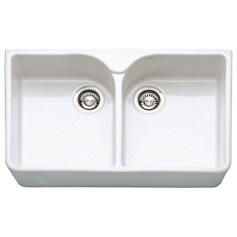 Buy Franke Belfast VBK 720 Ceramic Kitchen Sink Online at johnlewis.com