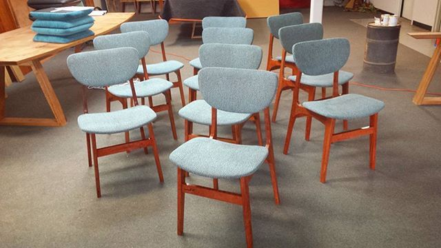 A stunning set of our Vella dining chairs Www.eclipsefurniture.com.au #furniture #design #handcrafted #wood #woodworking #australianmade #solidtimber #timberfurniture #australiandesign #australianmade #eclipsefurniture #bespoke #interiordesign #decor #furnituredesign #reuse #repurpose #recycle #salvaged