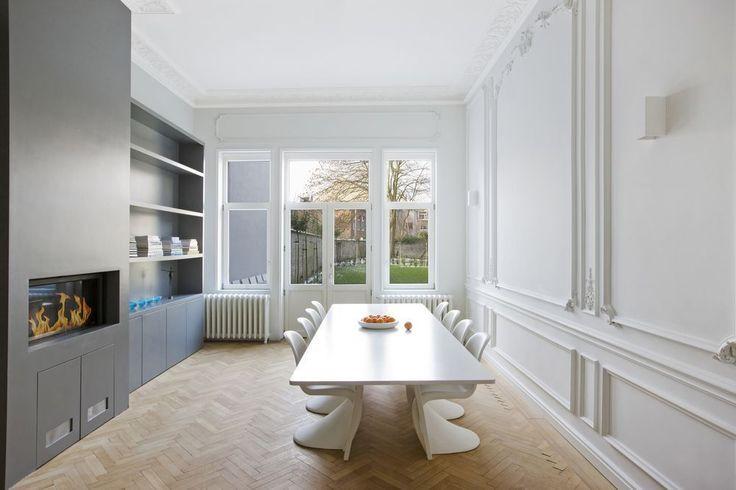 25 beste idee n over renovatie op pinterest keukenkast for Oud herenhuis interieur
