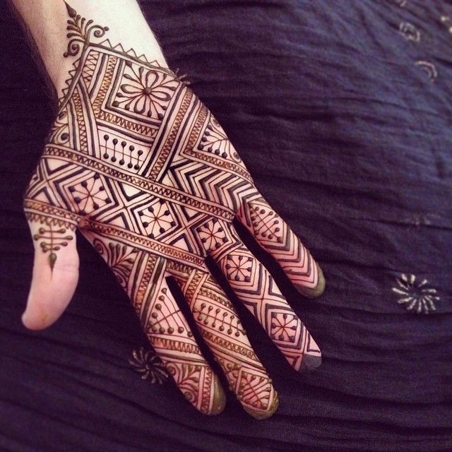 Moroccan Henna #maplemehndi