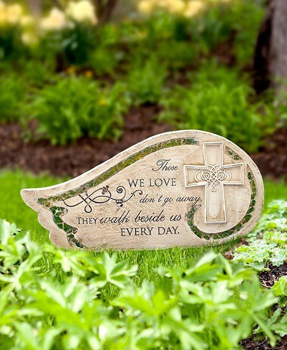 Add a sweet memorial to your home with a Mosaic Bereavement Memorial Garden Stone. Each stone has a beautiful look and a heartfelt message.