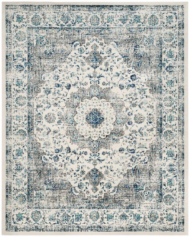 Aleyna Gray Ivory Area Rug In 2019 Area Rugs