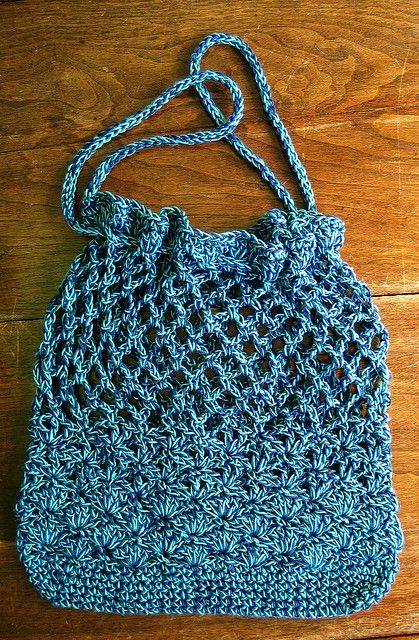 Free Crochet Shell Purse Pattern : She Sells Sea Shells Market Tote By Lyn Robinson - Free ...