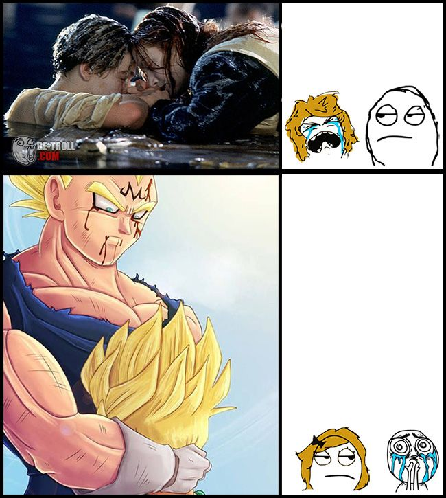 I cried for both moments but Vegeta's way more