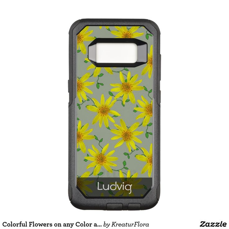 Colorful Flowers on any Color any Text