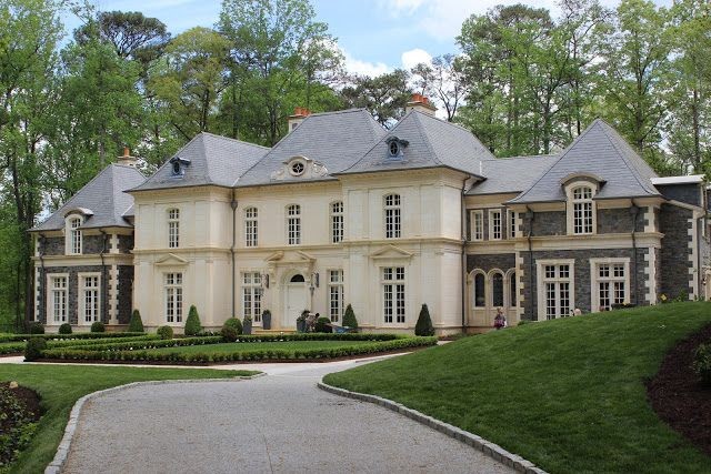 Traditional Exterior French Country House And French Chateau