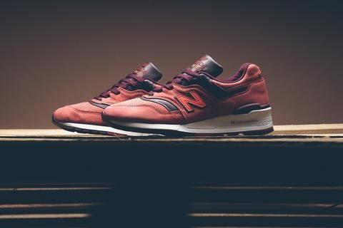 New Balance  M997DTAG - Red Clay