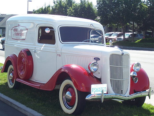 1936 Ford Panel delivery truck