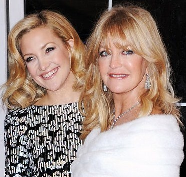 Goldie Hawn & Kate Hudson..superstar actresses as well as mother and daughter