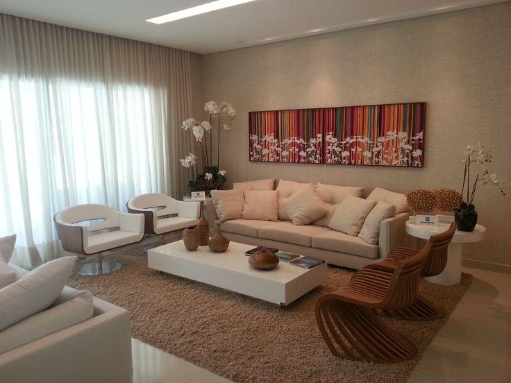 Apartamento decorado Imobiliária Eduardo Feitosa