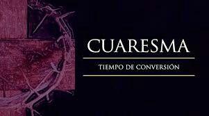 Es el tiempo litúrgico de conversión, que marca la Iglesia para prepararnos a la gran fiesta de la Pascua #arrepientetedetuspecados #conviertete