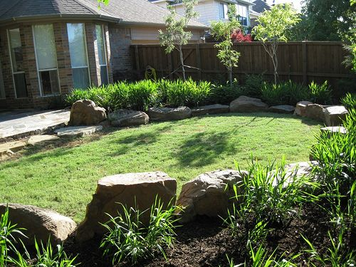 Photos landscape design plano allen mckinney dallas for Garden design landscaping dallas tx