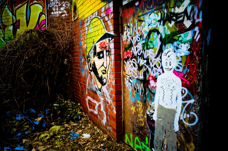 Rubble & street art