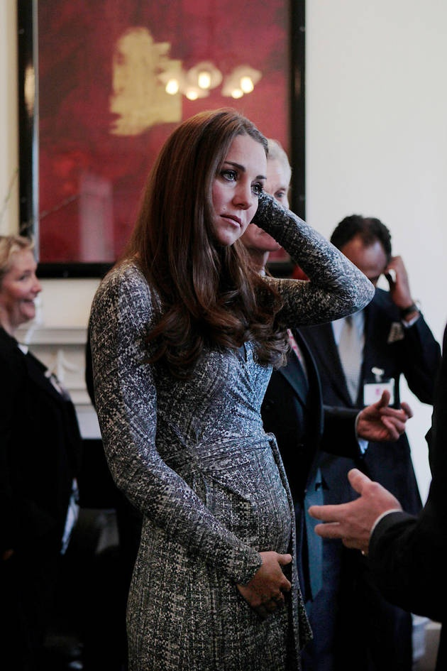 Pregnant Kate Middleton's Wrap Dress: See How Other Celebs Wore the Style