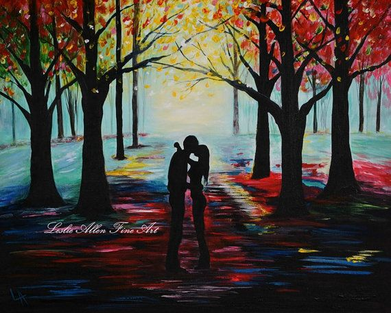 Couple+Painting+Couple+Art+Print+Couples+by+LeslieAllenFineArt,+$15.00