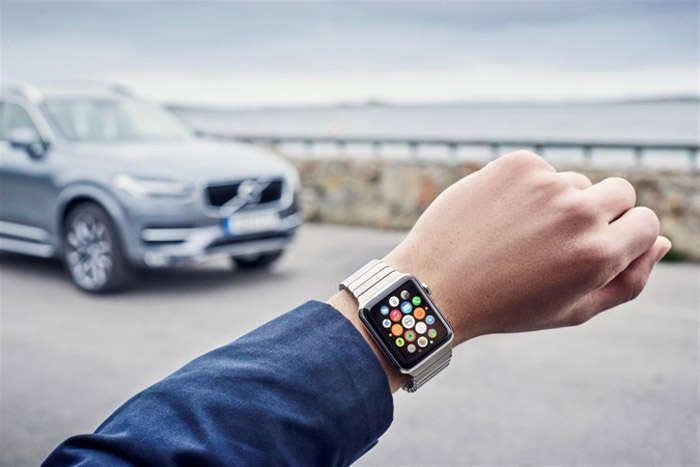 Controlling Volvo car from your Apple Watch  , - ,   Volvo launched a...