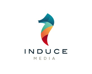 Induce Media Description: Logo project for a media company located in Toronto, Canada.  Status: Client work  Commenting: Actively seeking critiques  Tags: Colorful logo • Toronto • Coolest Logos • Cool logo • Sea Horse