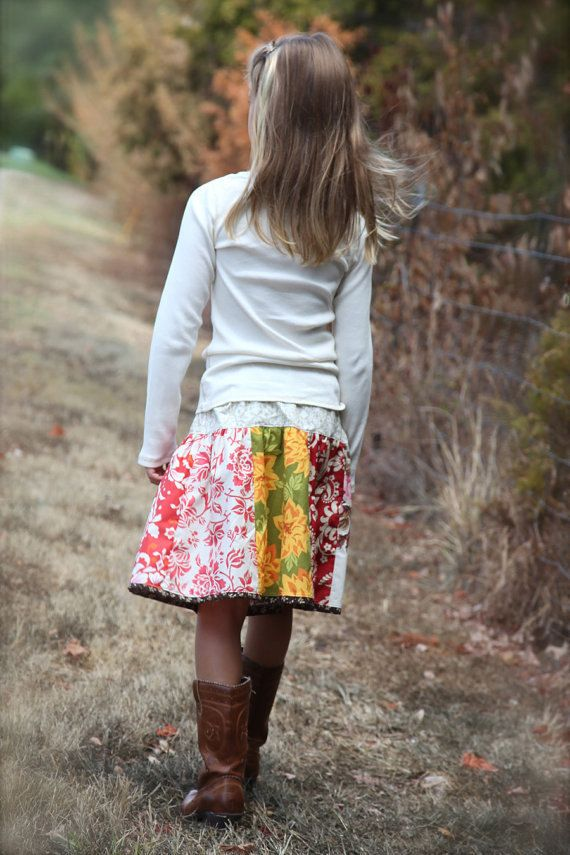 Panel Twirl Skirt pattern