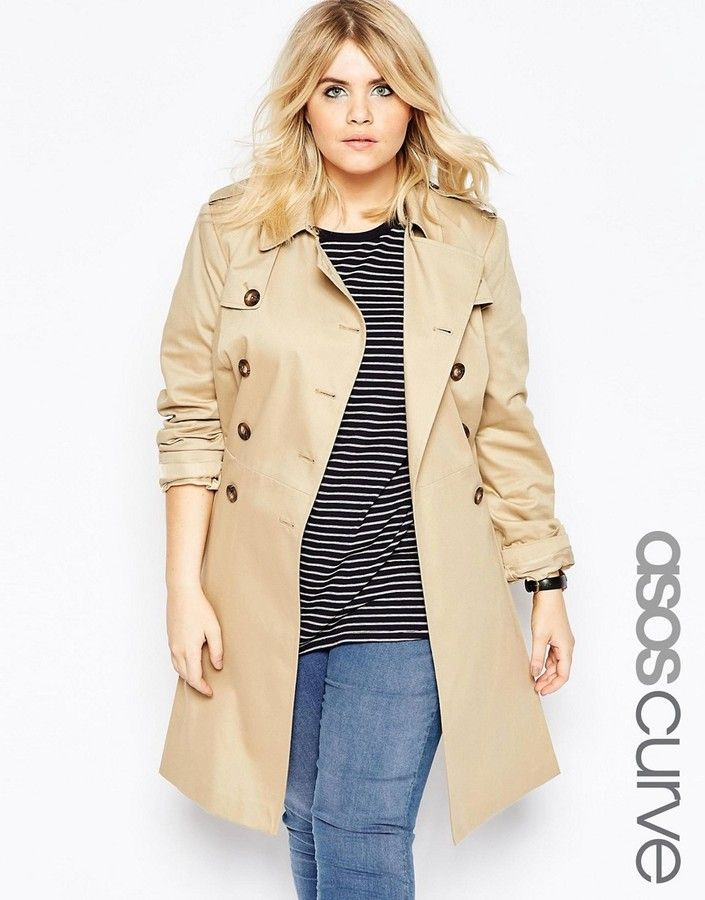 asos curve skater trench plus size plus size coats pinterest asos curve trench and curves. Black Bedroom Furniture Sets. Home Design Ideas