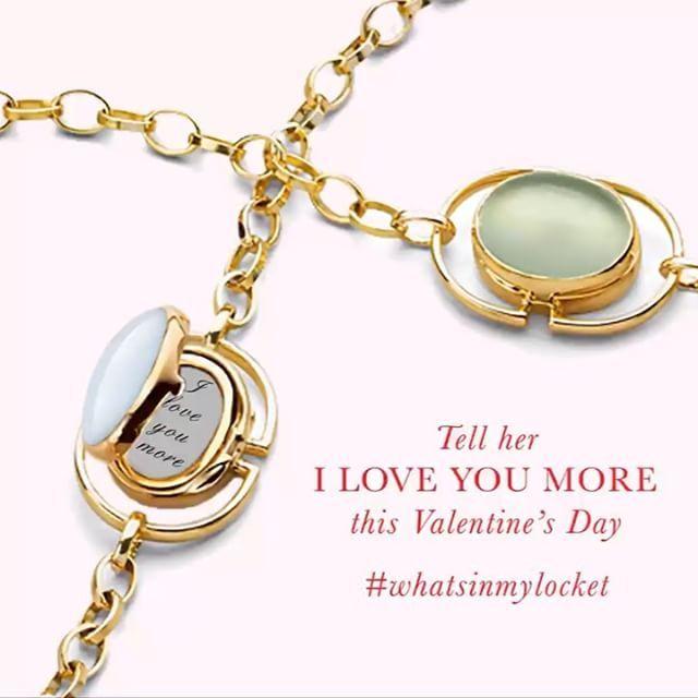 Happy Valentine's Day ❤  #valentinesday #monicarichkosann #whatsinmylocket #tellyourstory #locket #bracelet