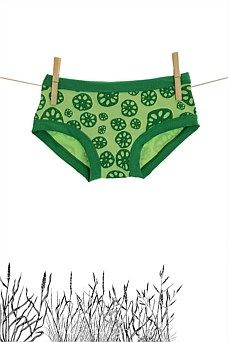 Womens Hipster Lime Lotus Root