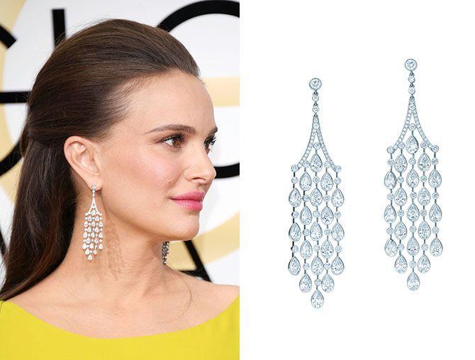 Natalie Portman The Golden Globes 2017 Best Jewelry Moments