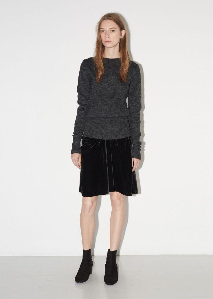Linore Velour Skirt