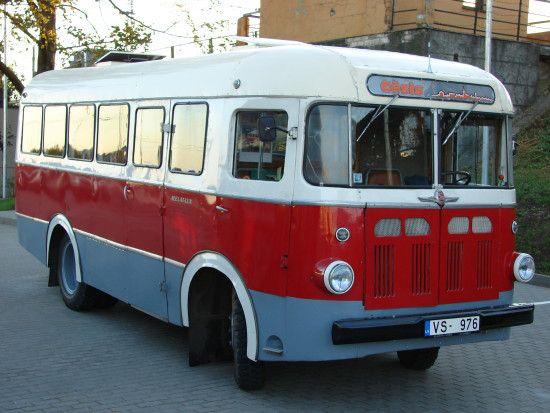 1956 RAF-251. The Riga Autobus Factory